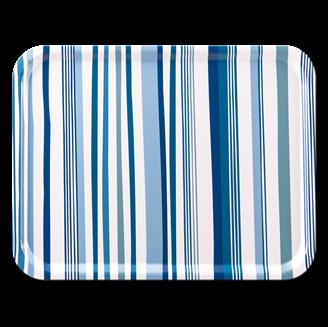 Bild på Stripes Blue 43x33cm