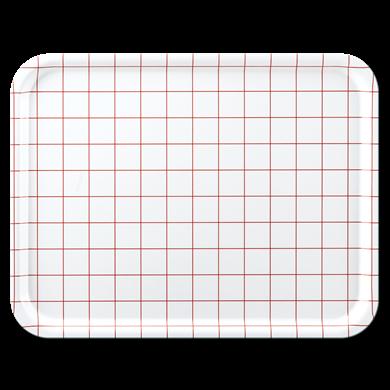 Bild på Red Grid 43x33cm